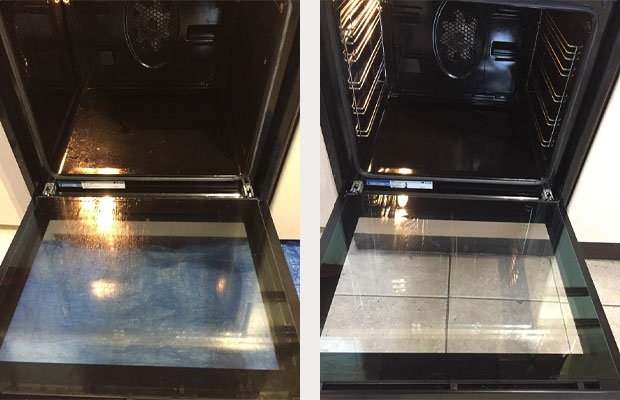 Before and After Oven Clean ashford Tn23