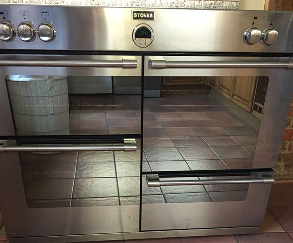 Range oven clean challock