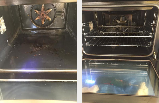 Double Oven Farmers Way Ashford Kent Before and After