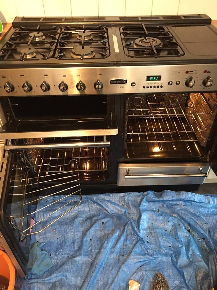 Range Oven Clean Charing
