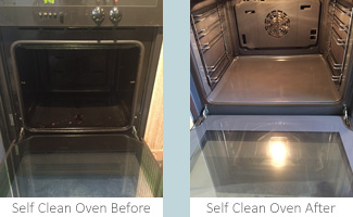 Self Clean Oven Clean