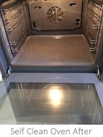 Self Clean Oven Clean In Ashford After Clean