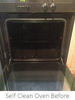 Self Clean Oven Clean In Ashford Before Clean